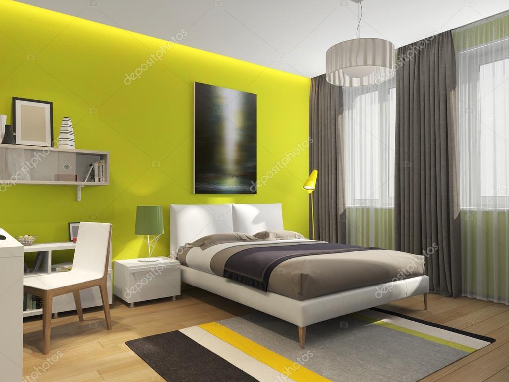 interieur slaapkamer tiener — Stockfoto © sanya253 #113828050
