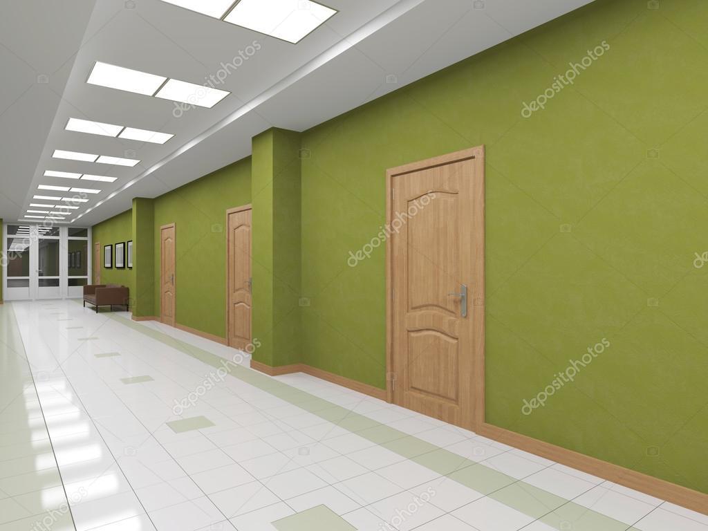 Moderne interieur gang met deuren u2014 stockfoto © sanya253 #71623127