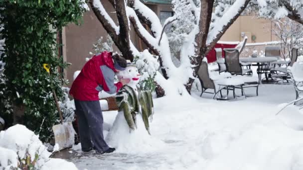 Hóember készítése