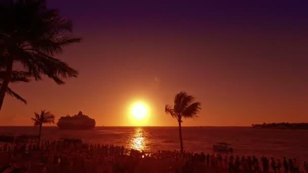 Key west západ slunce