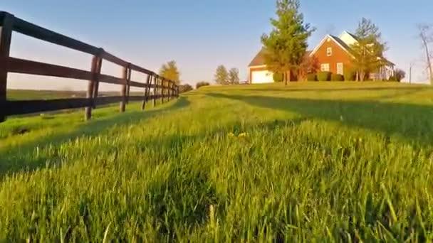 Koňská farma v centrálním Kentucky