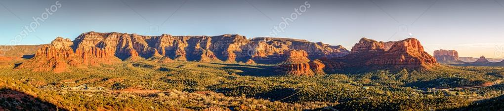 Red Rock formations in Sedona