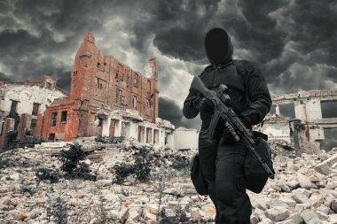 Nuclear post apocalypse survivor