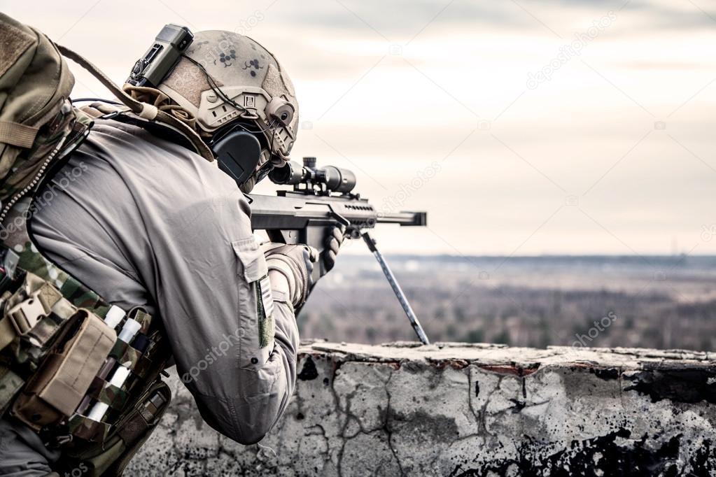 アメリカ軍の狙撃兵 — ストック写真 © zabelin #62667883
