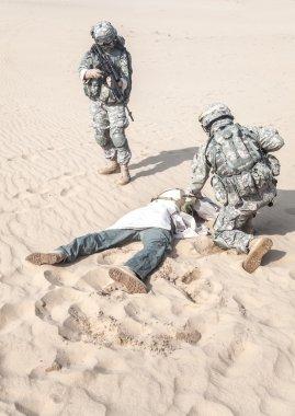 capturing the muslim warrior