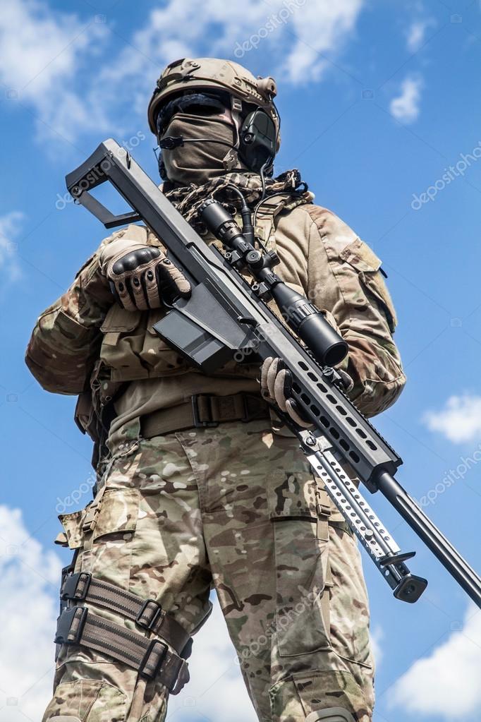 陸軍レンジャーの狙撃兵 — ストック写真 © zabelin #83922950