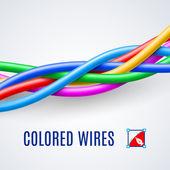 Interwoven plastic wires