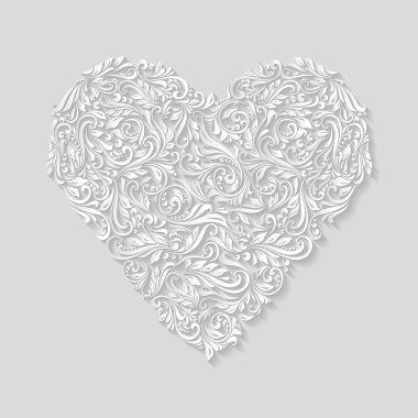Decorative heart of ornament
