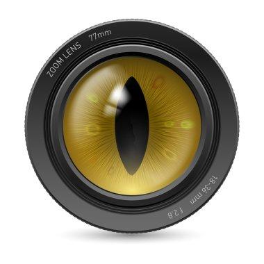 Camera  lens eye