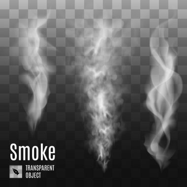 Set of transparent smoke