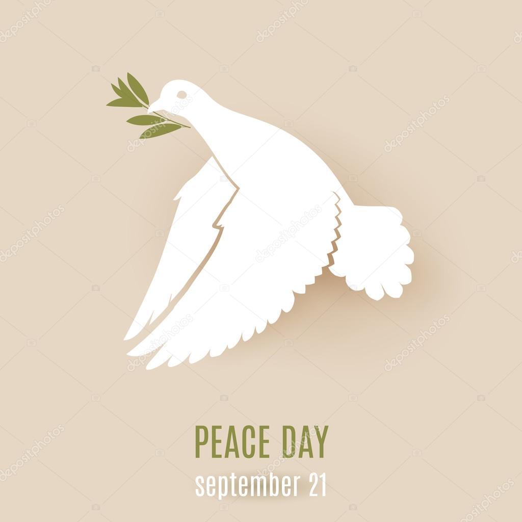 paloma de paz — Archivo Imágenes Vectoriales © dvargg #96872580