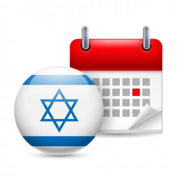 Icon of national day in israel