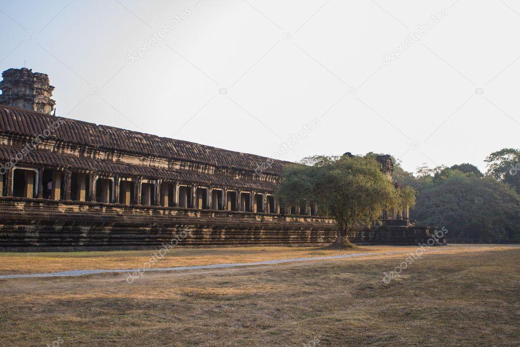 Angkor Wat temple in Cambodia.