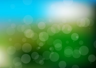 Vector abstract summer holiday blurred background