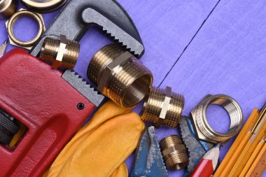 Tools and plumbing accessories