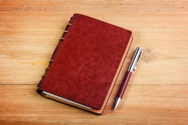 Notebook on the desk