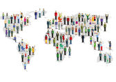 Csoportja számára, akik a világ Térkép