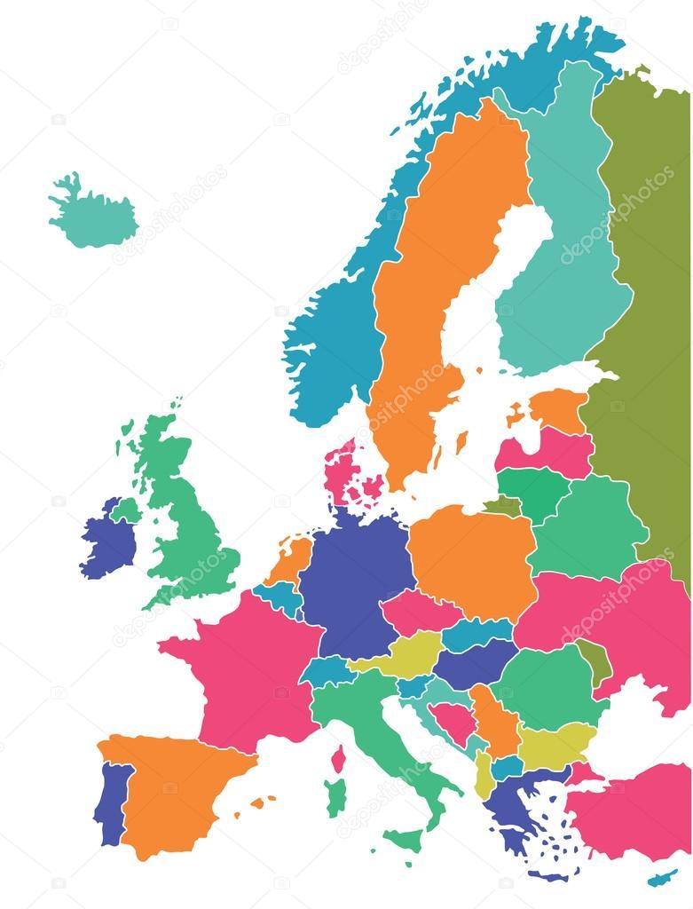 Mapa europeu vetor de stock scusi0 9 67632925 mapa europeu vetor de stock sciox Image collections
