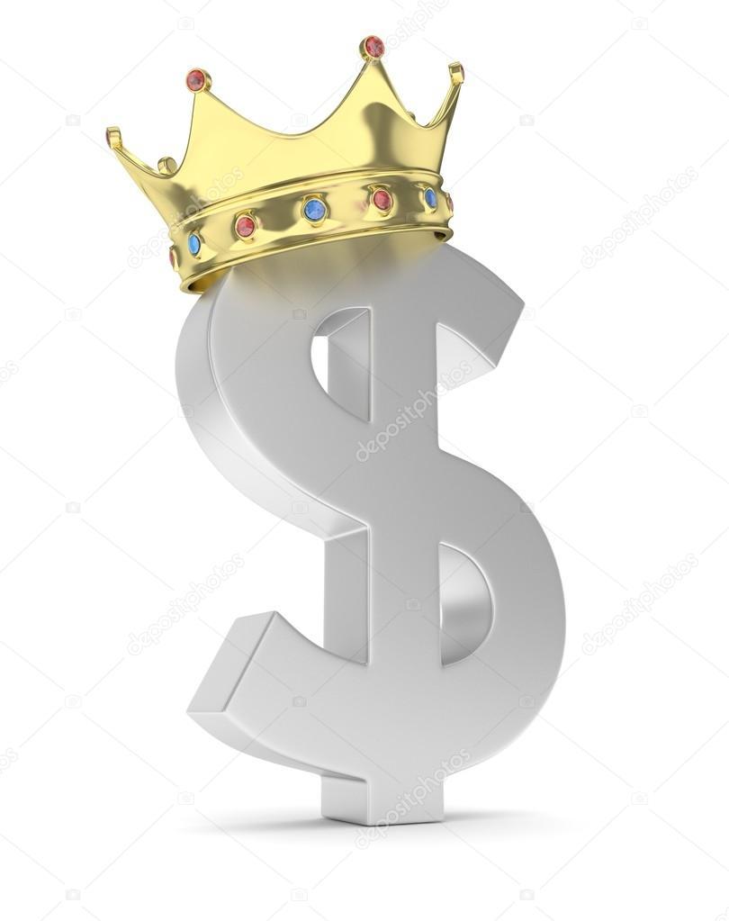 Картинка вопрос с короной