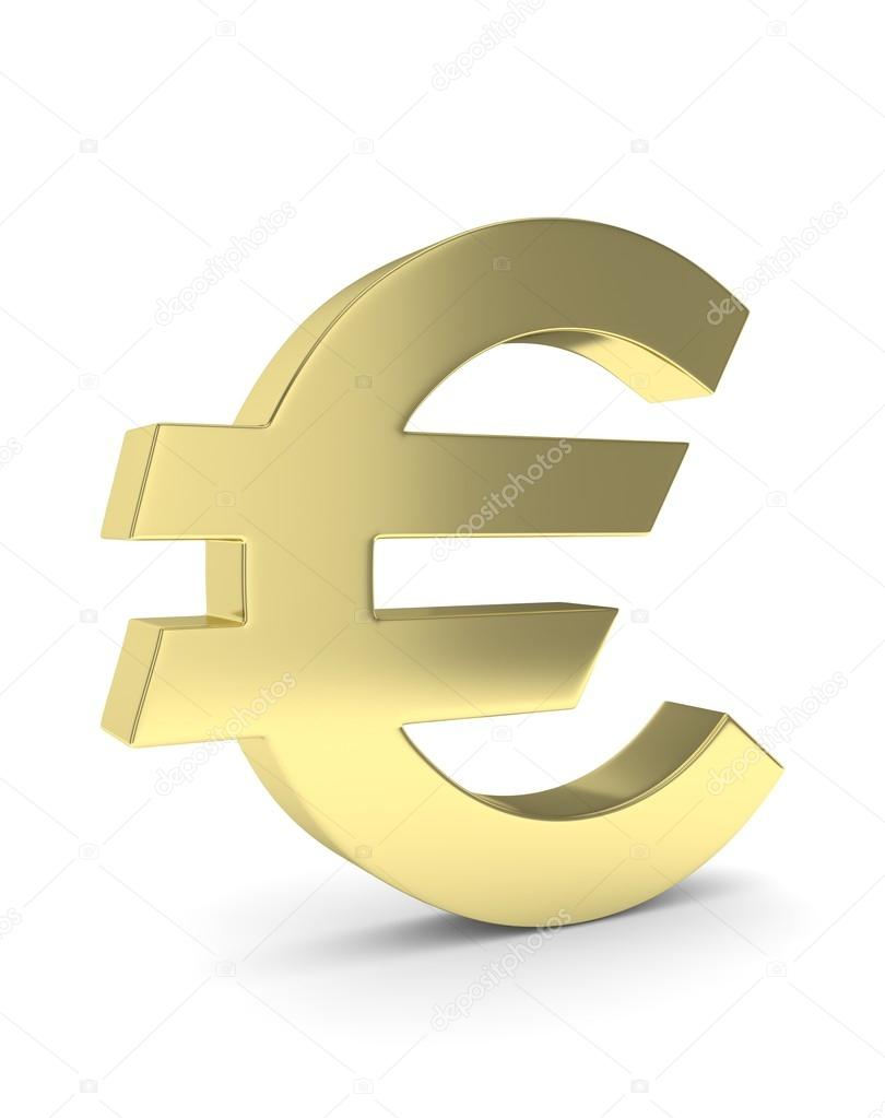 b6dc14d54 3D znak euro — Stock Fotografie © merznatalia #111046218