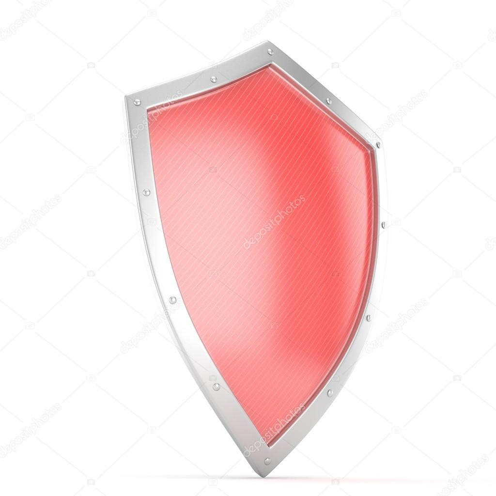 3d Red Shield Icon Stock Photo Merznatalia 113054504