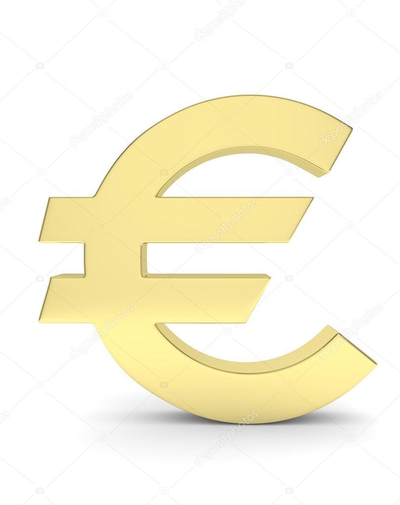 b5f4f1b27 3D znak euro — Stock Fotografie © merznatalia #113446724