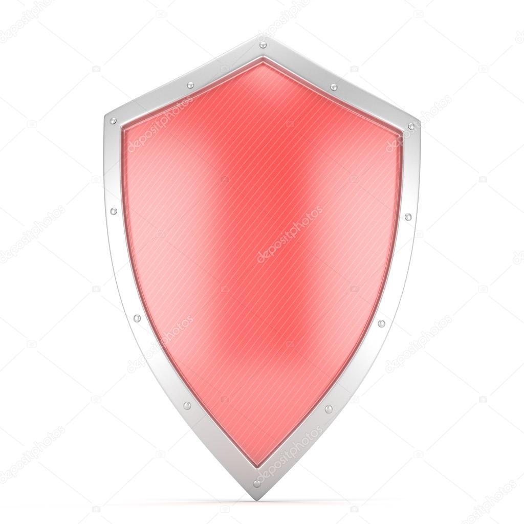 3d Red Shield Icon Stock Photo Merznatalia 114050010