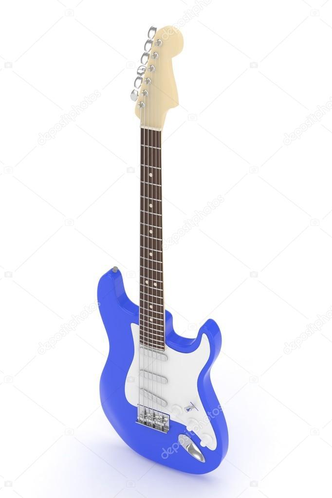 3D e-Gitarre — Stockfoto © merznatalia #116912354