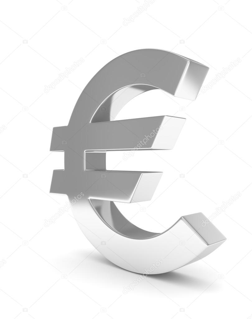 42de7c4ee 3D znak euro — Stock Fotografie © merznatalia #120364508