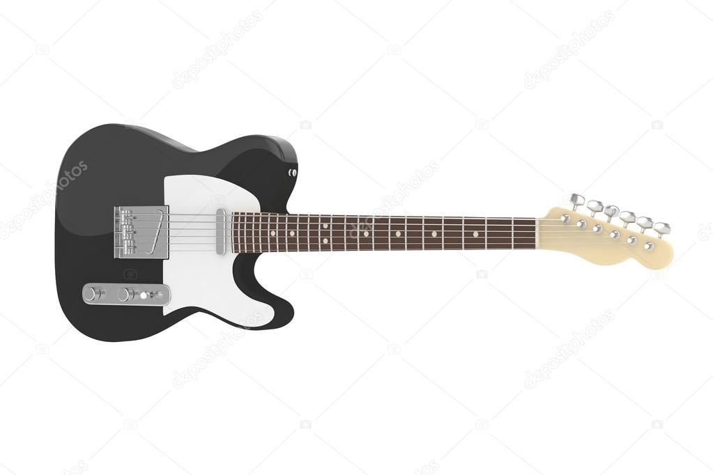 3D e-Gitarre — Stockfoto © merznatalia #121863528