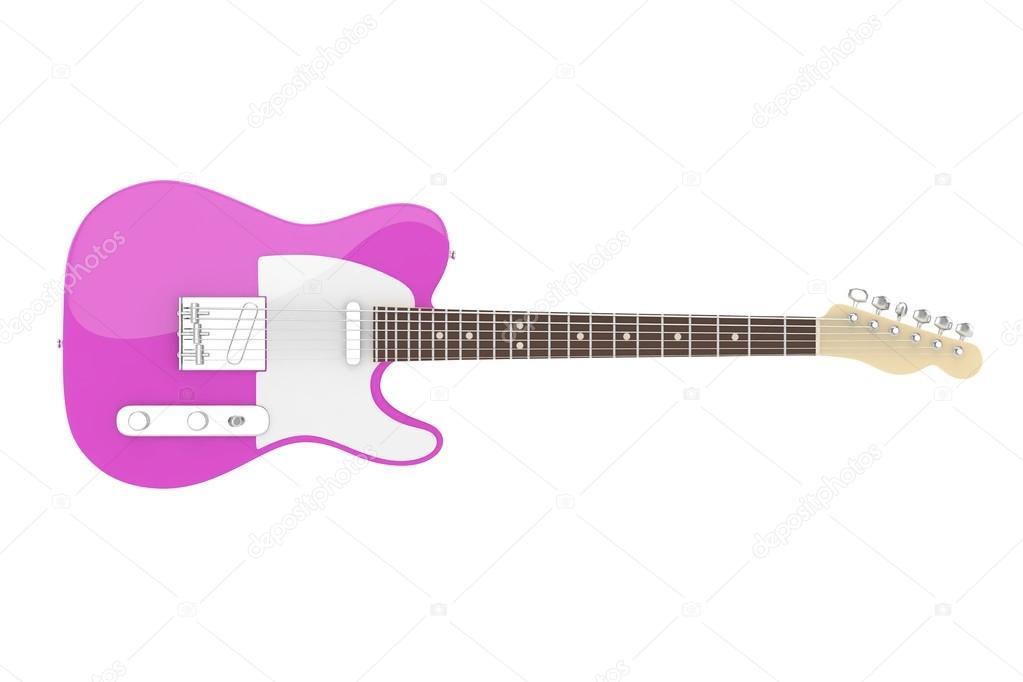 3D e-Gitarre — Stockfoto © merznatalia #121884978