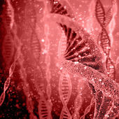 Photo Illustration of DNA structure