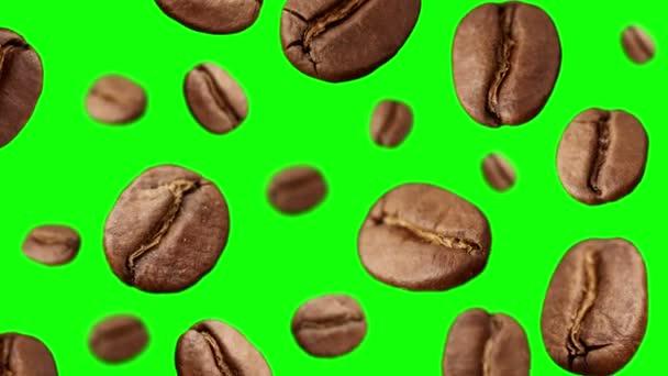 Kaffeebohnen, die fliegen