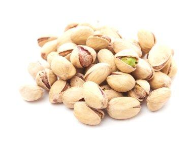 Heap of pistachios nuts