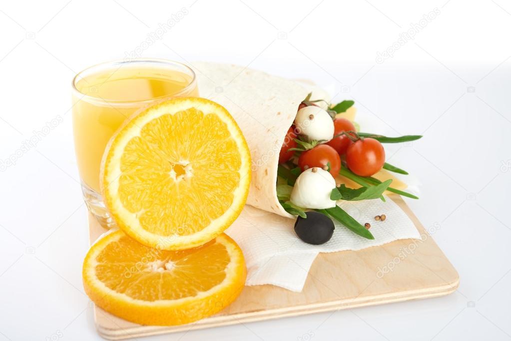 fresh and heathy breakfast stock photo merznatalia 81625572
