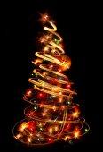 Vánoční strom v průvodní zprávě