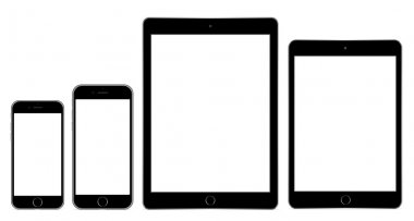 Vector illustration modern phone and tablet