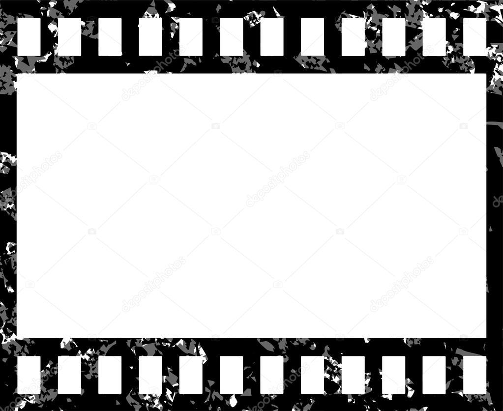Grunge Boş Film şeridi Stok Vektör Leonardo255 60950193