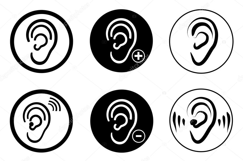 Ear Hearing Aid Deaf Problem Stock Vector Leonardo255 77701166