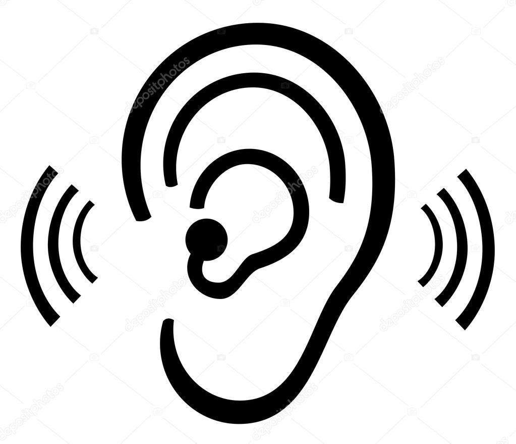 Ohr symbol stockvektor leonardo255 78042102 - Clipart oreille ...