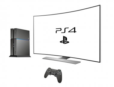 Sony Playstation 4 with TV