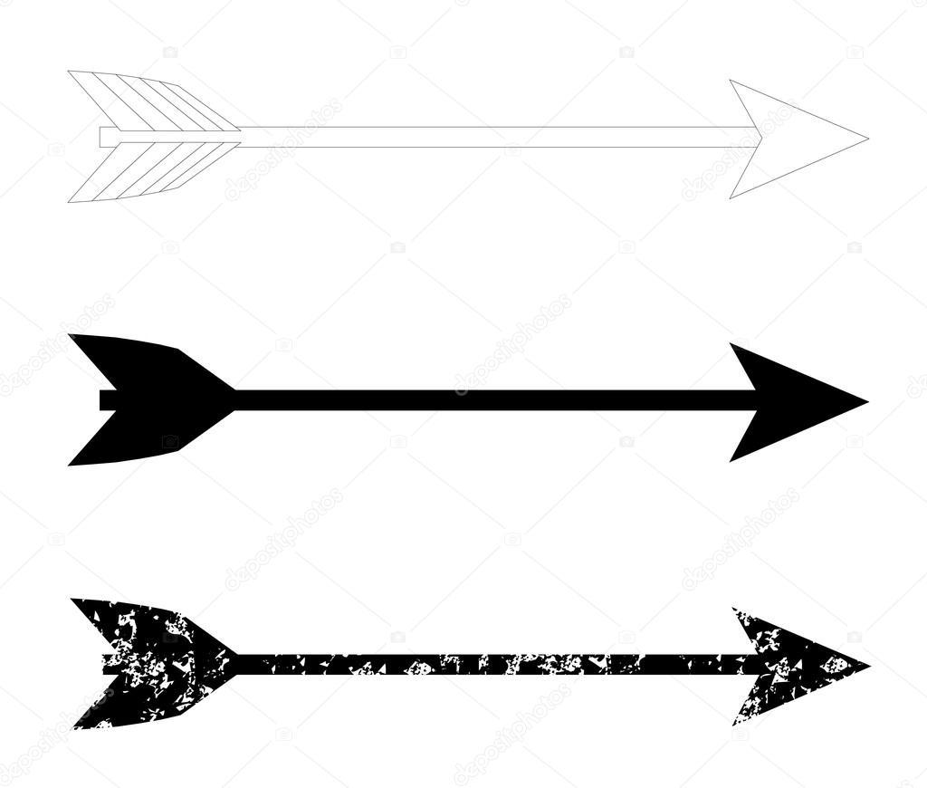 arco flecha vetor de stock  u00a9 leonardo255 81903772 bow arrow vector art bow and arrow vector graphic