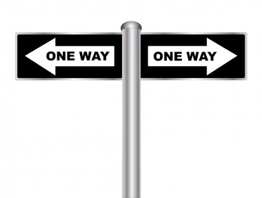 One Way Sign