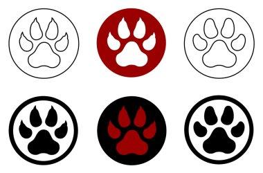 animal paw print