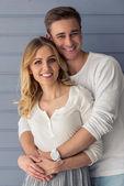 krásný mladý pár