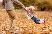 Rodinnou procházku podzimní