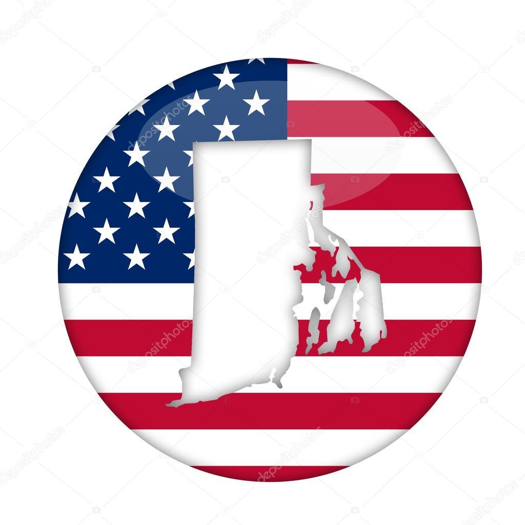 Rhode Island State Of America Badge Stock Photo Speedfighter17