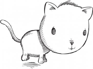 Doodle Kitty Cat