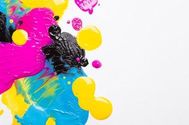 Drops of ink