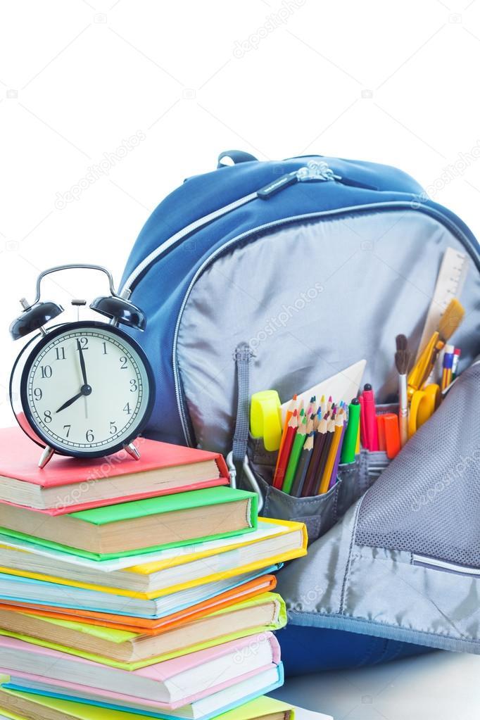 64358a87390 školní batoh — Stock Fotografie © Genika  78943720